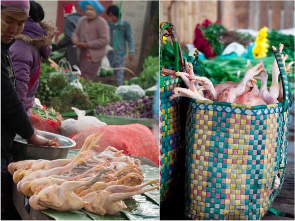 Chickens at Kalaw Market