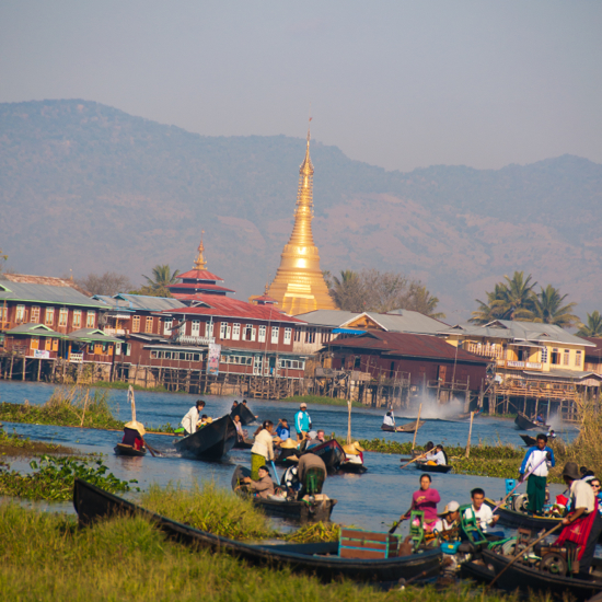 Around Inle Lake in Burma