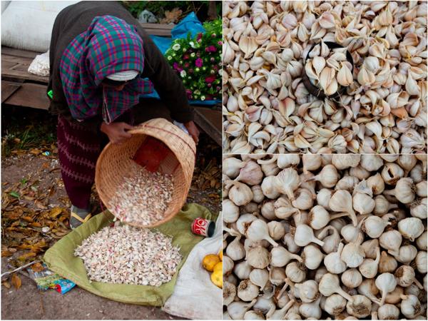 Garlic at Kalaw Market