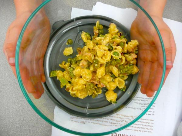 Jamie Oliver's mini shell pasta