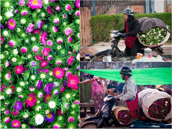 Kalaw market flowers and flower delivery