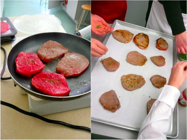 cooking with kids steaks