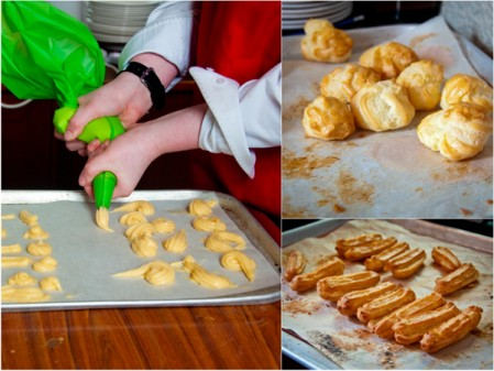 Baking with kids making choux pastry by eat. live. travel. write.