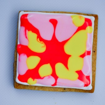 Decorating cookies with Adell Shneer of Art to Eat Cookies 1