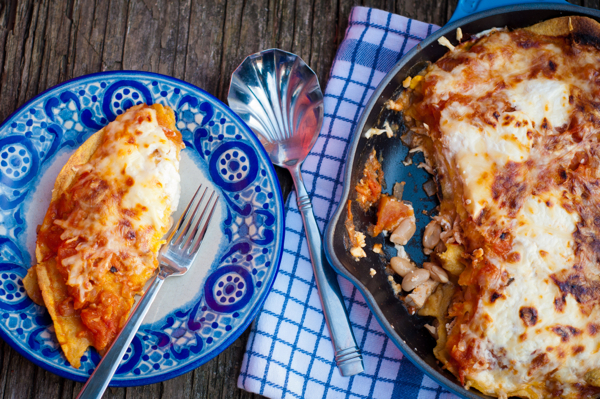 Pati Jinich's Aztec Chicken Casserole from Pati's Mexican Table