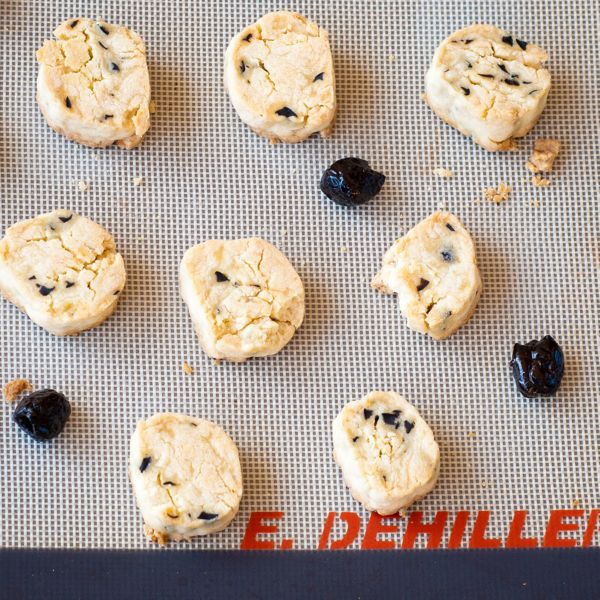 Olive sable cookies by Pierre Herme and Dorie Greenspan Around My French Table French Fridays with Dorie