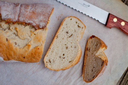 rustic potato loaves for Baking with Julia Tuesdays with Dorie