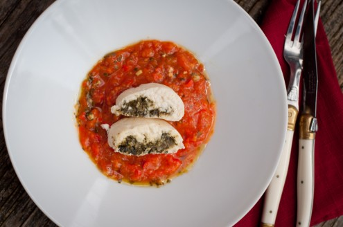 Cod and Spinach roulades from Around my French Table for French Fridays with Dorie by eat. live. travel. write.