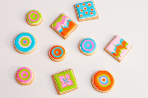 Art to Eat cookies by Adell Shneer