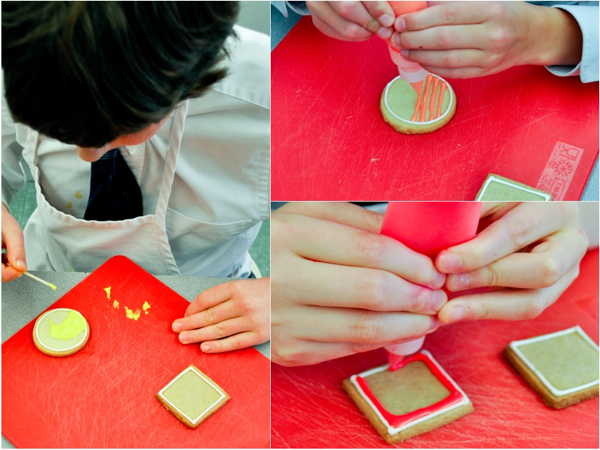 Decorating cookies with Royal Icing with Adell Shneer of Art to Eat Cookies