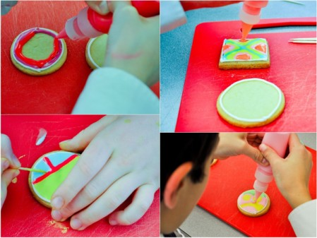 Decorating cookies with Royal icing with Adell Shneer from Art to Eat Cookies
