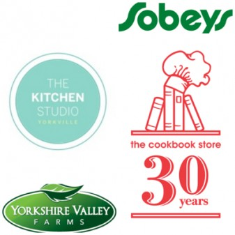 Food Revolution Day sponsors The Kitchen Studio The Cookbook Store Sobeys Yorkshire Valley Farms Mardi Michels
