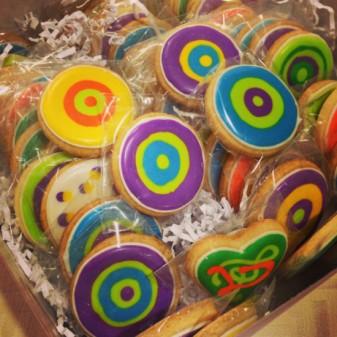Art to Eat Cookies #FBC2013 by eatlivetravelwrite.com