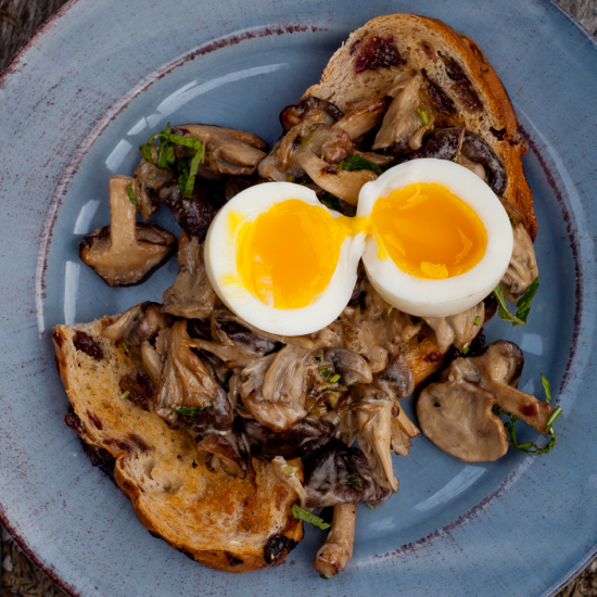 French Fridays with Dorie creamy mushrooms & eggs Dorie Greenspan Around my French Table