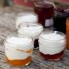Little pots of jam and cream for Real Women of Philadelphia Mardi Michels eatlivetravelwrite.com