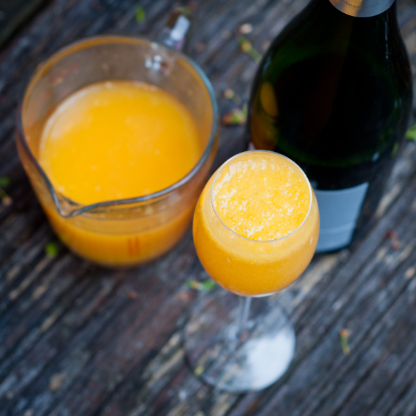 Orange juice and mimosas Mardi Michels eatlivetravelwrite.com