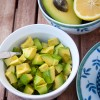 Anne Le Blanc´s Pistachio Avocado for French Fridays with Dorie Mardi Michels eatlivetravelwrite.com