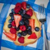sable Breton with lemon curd and berries by Mardi Michels eatlivetravelwrite.com