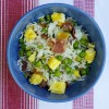 Fried rice with bacon and eggs by Mardi Michels eatlivetravelwrite.com