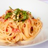paghetti with creamy tomato-lemon sauce on eatlivetravelwrite.com