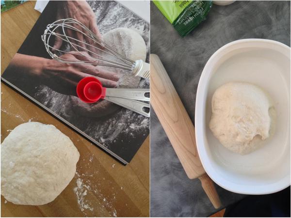 Jennifer Perillos pizza dough Mardi Michels eatlivetravelwrite.com