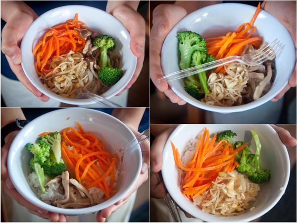 Korean bibimbap bowls at Seoul Food Toronto Mardi Michels eatlivetravelwrite.com