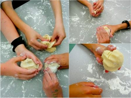Les Petits Chefs make pie crust with Emily Richards Mardi Michels eatlivetravelwrite.com