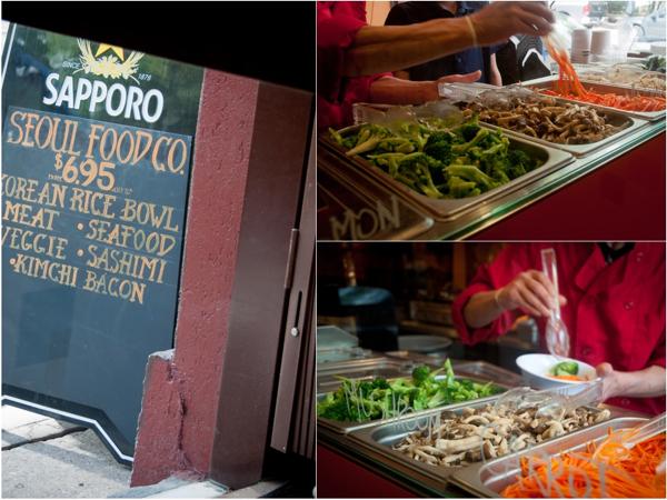 Seoul Food Company Toronto making bibimbap bowls Mardi Michels eatlivetravelwrite.com
