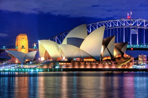 Sydney_Opera_House_Close_up_HDR_Sydney_Australia by Hai Linh Truong http://www.flickr.com/people/86765221@N00