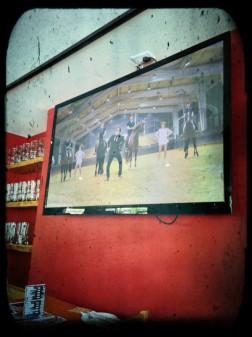 Watching Gangnam Style