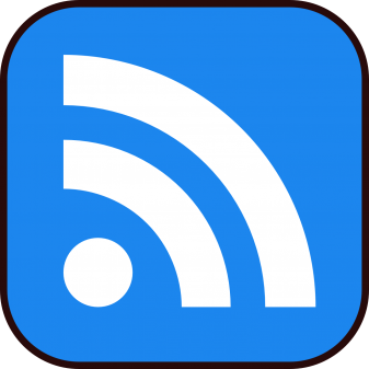 RSS feed reader button
