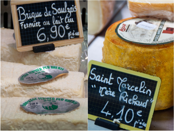 Cheese at the Marche St Germain in Paris on eatlivetravelwrite.com