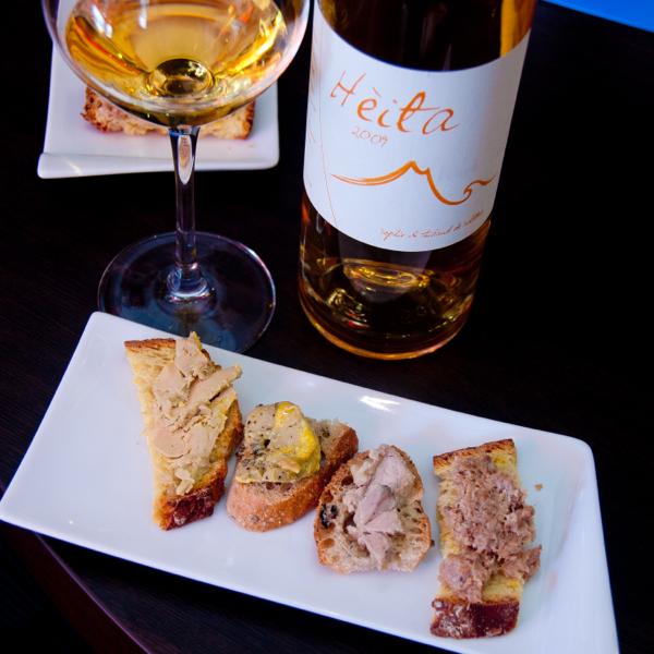 Foie gras tasting on eatlivetravelwrite.com
