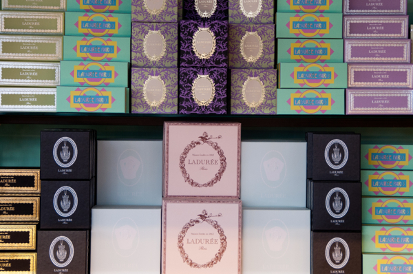 Laduree packaging on eatlivetravelwrite.com
