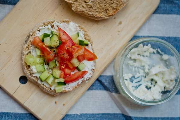 French Fridays with Dorie dieter's tartine from Around my French Table