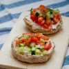 Dieter's tartine from Around my French Table for French Fridays with Dorie