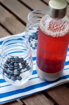 SodaStream Source with pomegranate on eatlivetravelwrite.com