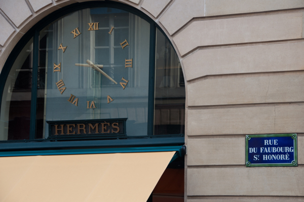 Hermes Paris on eatlivetravelwrite.com