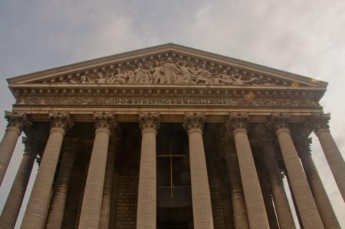 Eglise Place de la Madeleine Paris on eatlivetravelwrite.com