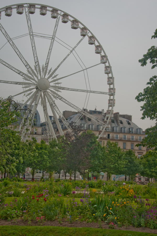 Ferris Wheel Tuileries Paris on eatlivetravelwrite.com