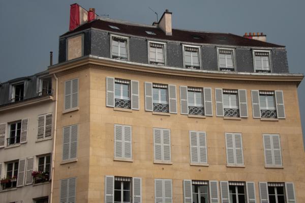 Stormy skies in Paris on eatlivetravelwrite.com