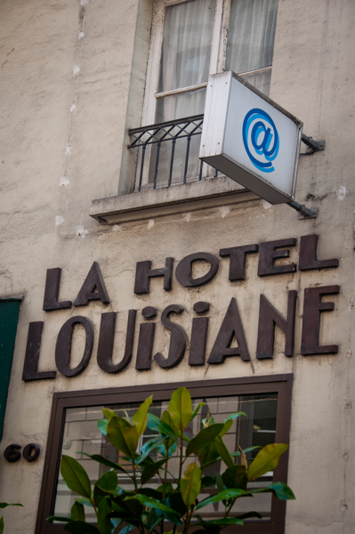 Hotel Louisiane on eatlivetravelwrite.com