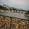 Love locks in Paris on eatlivetravelwrite.com