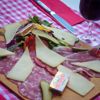 Fromage and charcuterie on eatlivetravelwrite.com