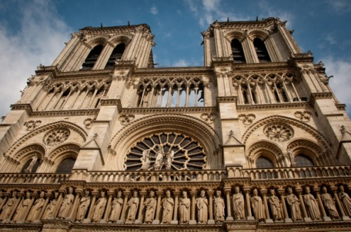 Notre Dame in Paris on eatlivetravelwrite.com