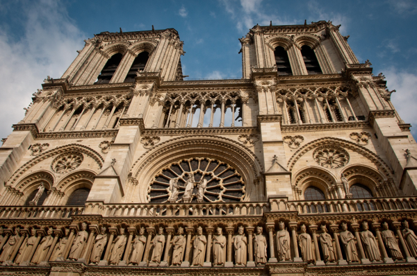 Notre Dame in Paris on eatlivetravelwrite.com