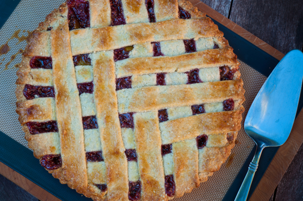 Baking with Julia raspberry and fig crostata on eatlivetravelwrite.com
