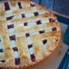 Tuesdays with Dorie Baking with Julia raspberry and fig crostata on eatlivetravelwrite.com