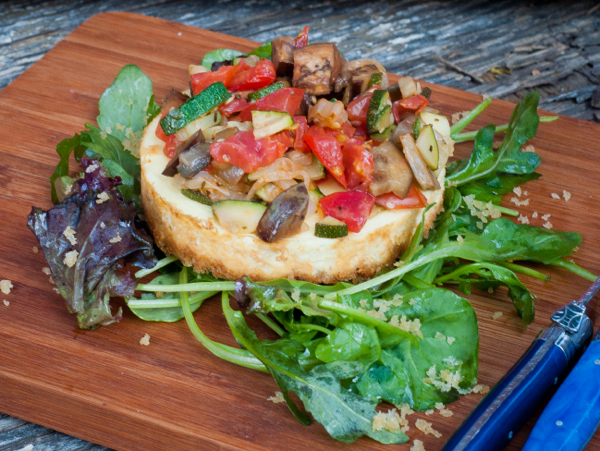 Savoury cheesecake on Real Women of Philadelphia by eatlivetravelwrite.com