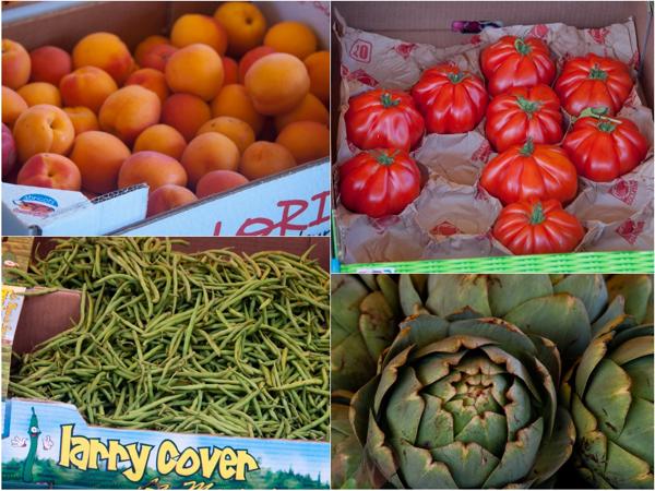 Fruits and vegetables at Versailles market on eatlivetravelwrite.com